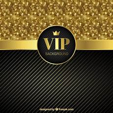 Golden Vip Background With Glitter Vector Free Download