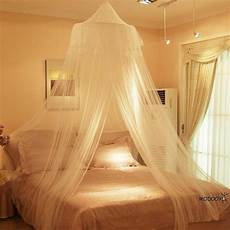 white lace insect bed canopy netting curtain dome