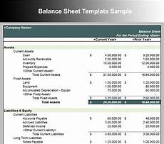 Sample Excel Balance Sheet 10 Balance Sheet Template Free Word Excel Pdf Formats