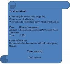 contoh undangan reunian bhs inggris contoh isi undangan