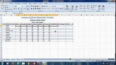 Ms Excel Sheet Students Marks Sheet Ms Excel 2007 Youtube