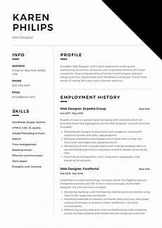 Resume Sample For Designers 12 Free Web Designer Resume Examples 12 Samples