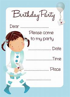 Invitation Cards To Print Printable Birthday Invitations 2 Coloring Kids