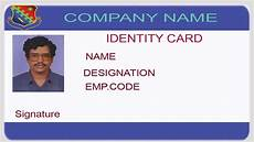 Make Id Badges Online Free How To Design An Id Card Using Photoshop With English