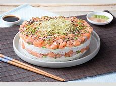 Sushi cake   Anne Sophie   Fashion Cooking