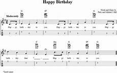Happy Birthday Ukulele Chords Happy Birthday Ukulele Chords Tabs Notes For Beginners
