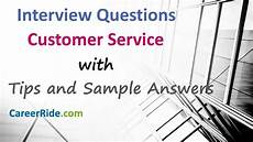 Interview Question And Answers For Customer Service Customer Service Interview Questions And Answers For
