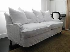 White Sofa Cover 3d Image by White Slipcover For Sofa Best Slipcovered Sofas Washable