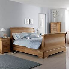 oak sleigh bed avignon robinsons beds