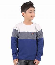 boy sleeve shirt bodyglove color block sleeves t shirt for boys buy