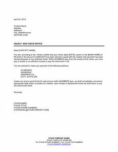 Insufficient Funds Letter To Customer Notice Of Check Nsf Template Word Amp Pdf By Business In