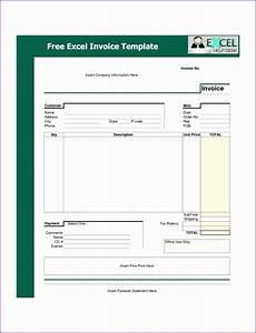 Excel Invoice Templates Free Download 10 Microsoft Excel Invoice Template Free Download