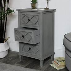 Bedside Cabinets Grey Bedside Cabinet Venice Range Melody Maison 174