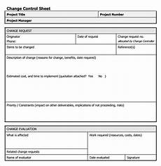 Free Project Management Forms Free 7 Sample Change Request In Pdf Ms Word