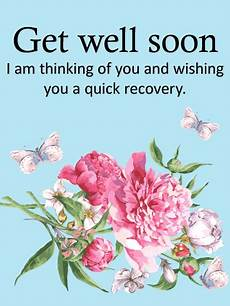 Words For A Get Well Card Carnation Get Well Card Birthday Amp Greeting Cards By Davia