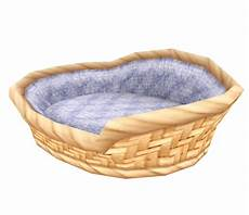3ds nintendogs cats wicker bed the models resource