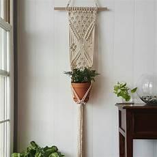 macrame plant hanger macrame wall hanging maceteros de