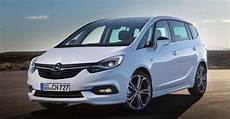 Opel Zafira 2019 by Updated 2018 2019 Opel Zafira Tourer Deprived Boomerangs