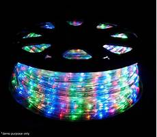 Outdoor Multi Coloured Rope Lights 1800 Led Christmas Rope Lights 50m 8 Functions Multi