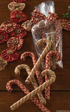 home for holidays yo yo garland fabric canes