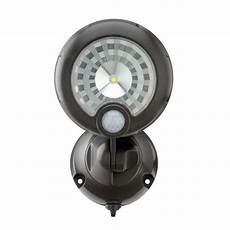 Battery Operated Security Lights Home Depot Mr Beams Wireless 120 Degree Bronze Motion Sensing Outdoor