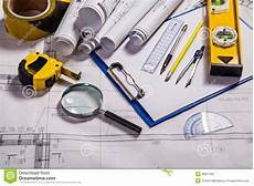 Architecture Equipment Architecture Tools Stock Image Image Of Glass Office