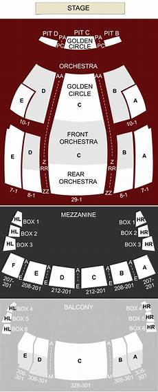 Temple Buell Seating Chart Buell Theater Denver Co Seating Chart Amp Stage Denver