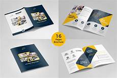Cool Brochure Templates Brochure Template 16 Pages Brochure Templates