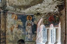 fresco old an fresco on the wall of st nicholas church demre