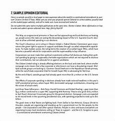 Example Of Editorial Essays News Editorial Outline Examples Pdf Examples