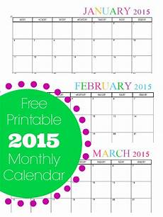 Monthly Calendar Printable Free Free Printable Bi Weekly Planner Cute Amp Colorful Template