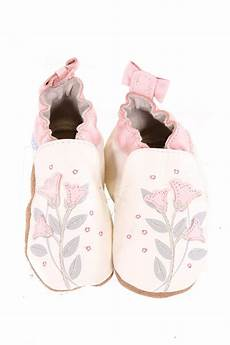 Robeez 6 12 Months Size Chart Robeez Ivory Booties With Floral Embroidery Size 6 12