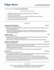 Online Resume Services Resume For Customer Service Edit Fill Sign Online