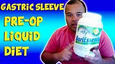 gastric sleeve pre op liquid diet 8 25 15