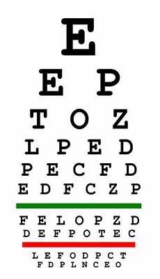 Free Printable Eye Chart Vision Test Eyesight Test Chart Stock Photo 169 Violin 5152080