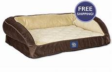 Sofa Pet Bed For Dogs Png Image by Serta Deluxe Pet Bed