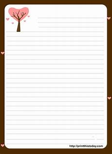 Word Stationery Templates Free Love Letter Pad Stationery