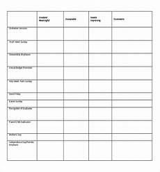 Survey Sheet Template 24 Blank Survey Templates Pdf Word Excel Free