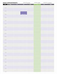 Daily Calendars 9 Day Calendar Templates Free Samples Examples Formats
