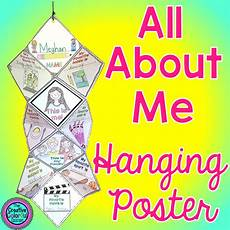 Colorful Poster Ideas The Creative Colorful Classroom Quot All About Me Quot Ideas For