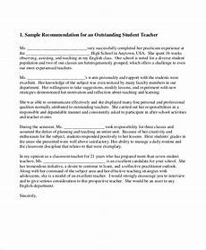Request A Recommendation Letter 8 Sample Teacher Recommendation Letter Free Sample