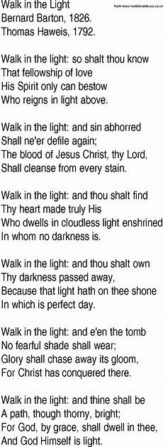 Stand In The Light Lyrics Hymn And Gospel Song Lyrics For Walk In The Light By