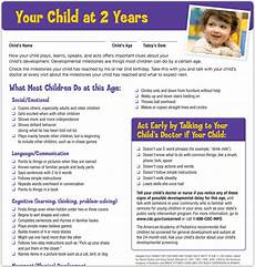 2 Year Milestones Chart Training Module 3 Watch Me Learn The Signs Act Early