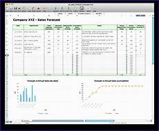 Excel Forecasting Template 6 Sales Forecast Template Excel Excel Templates Excel