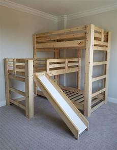 play bunk bed w slide bargain box and bunks