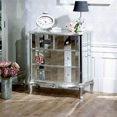 mirrored chest of drawers range melody maison 174