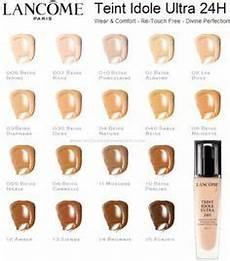 Lancome 24 Hour Foundation Color Chart Lancome Teint Idole Ultra Wear 24h Foundation Color Chart