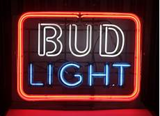 Bud Light Texas Neon Sign For K Vintage Neon 3 Color Bud Light Sign Large Barware