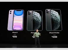 iPhone 11 Pro, 11 Pro Max with triple camera set up