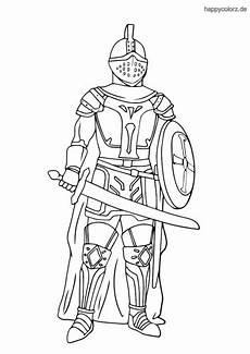 Malvorlage Ritter Einfach Malvorlage Ritter Einfach